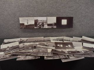 lot of 32 Vintage Old Photos of Downtown Wichita  Ks   Age unknown  Construction Project