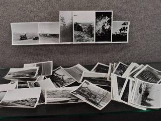 lot of 61 Vintage Old landscape Photos Grand Teton