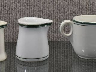 lot of 3 Vintage Fraunfelter China Individual Creams   Cup   2 1 4