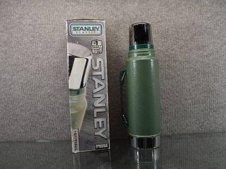 Vintage NIB Stanley Classic Flask Thermos   Steel   1 QT