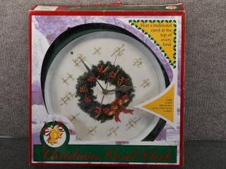 Vintage Christmas Carol Clock XMAS 0075   Feldstein   Associates    Play different carols on the hour