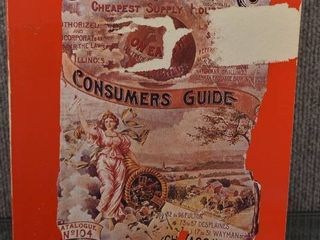 Vintage 1968 Recreation of The 1897 Sears   Roebuck Catalogue Consumer Guide   S J  Perelman   Richard Rovere