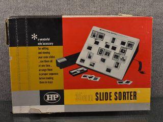 Vintage 35MM Slide Sorter   Hudson Photographic Industries   Original Box
