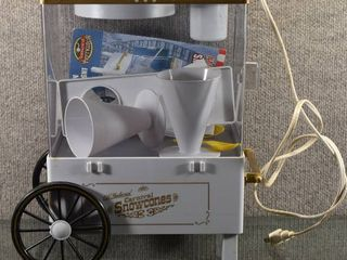 Nostalgia Electrics Old Fashioned Carnival Snow Cone Maker   Has Instruction Books and All Pieces