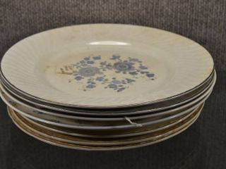 lot of 8 Vintage Replacement Plates   Wedgwood  Knowles  Harmony   Crooksville China   Japan  England  USA etc   10