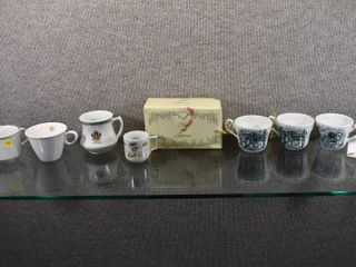 lot of 9 Vintage Now   Forever Couple Mugs NIB   Various Brands of Cups   O P  Syracuse  Franciscans  Papel Etc