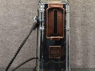 Vintage Fill er Up liquor Dispenser   Has lines for Oz    16  Tall