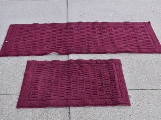 Set of 2 Matching Area Rugs   34    66