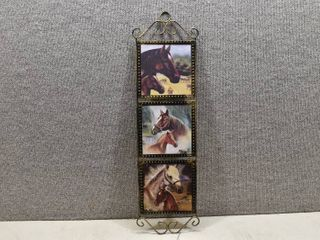 NIB Country Collections Horses Wall Decor   lincolnShire    24