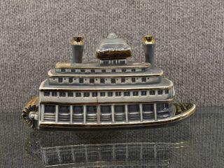 Vintage Westport landing River Queen Ferry Decanter   4 5 Quart