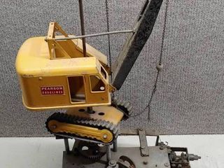 Antique Pearson Draglines Digger Claw Arcade Game Steam Shovel   24 5  Tall   lOCAl PICKUP ONlY
