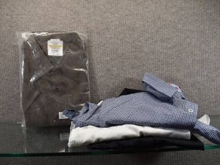 lot of 4 New Mixed lot of Mens Shirts   Izod New M  Twin Hill New Xl  Northend Xl   XXl