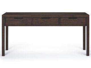WYNDENHAll Fabian SOlID WOOD Contemporary Modern 60  Wide Desk