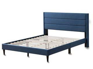 Brookside Sara Upholstered Bed with Horizontal Channels Retail 262 99