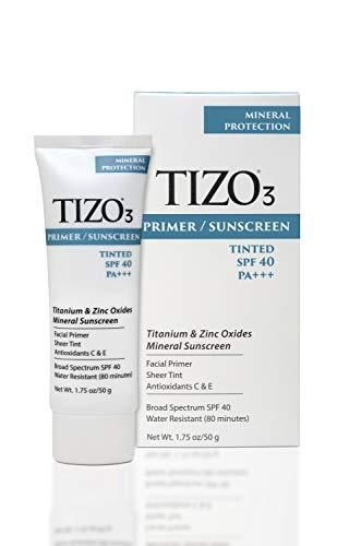 TIZO3 Tinted Facial Mineral Sunscreen   SPF 40   Pack of 2
