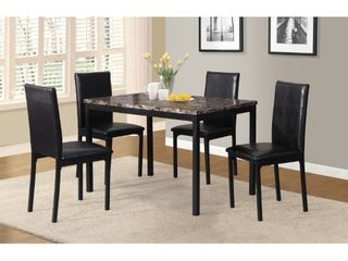 Citico Dinette Black Chairs  4 Chairs