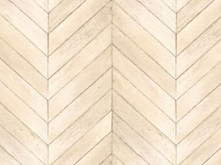 Patton Chevron Wood Vinyl Strippable Roll  Covers 55 sq  ft  Neutral  light Beige  light Taupe  Ivory  Beige