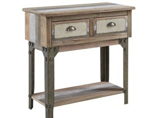 Carbon loft Crowe Small Industrial Console Table