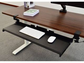 Airlift 360 Extra Wide Under Desk Sliding Ball w  Bearing Keyboard Tray
