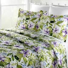 Purple Tiger lily Montego Bay Quilt Only   Cali King