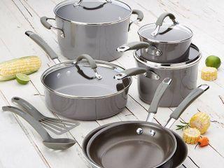 Rachael Ray Cucina 12 Piece Nonstick Cookware Set