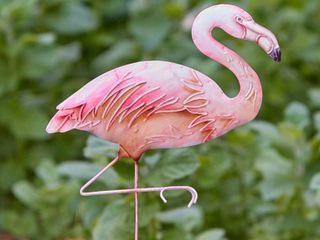 Handmade Flamingo Garden Decoration