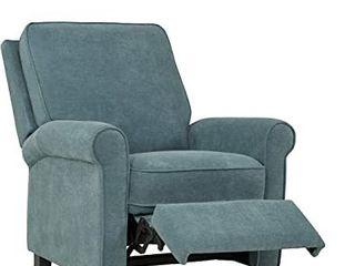 Prolounger Chenille Push Back Recliner Chair