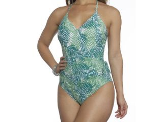Sun and Sea Missy Crossover One Piece   Size 12