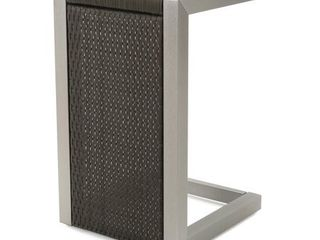 Cape Coral Wicker C Shaped End Table by Christopher Knight Home
