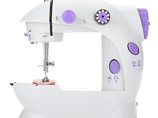 Mini Electric Handheld Sewing Machine Dual Speed Adjustment w  light Foot