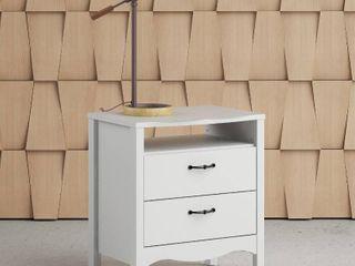 Copper Grove Schwartau White 2 drawer Nightstand Retail 162 99