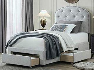 Twin Size Bed Headboard Footboard Side Rail