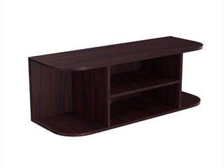 Wall Mount Espresso Wood large Floating Shelf Retail 141 99