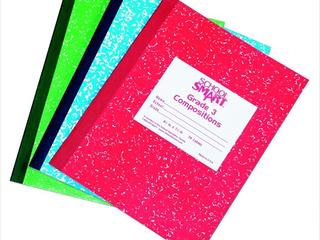 School Smart Skip a line Ruled Composition Book  Grade 1 3