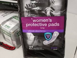 Cvs Womenas Protective Pads  long  Ultimate Absorbency  27 Wrapped Pads