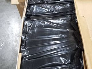 Uline s   510 842 45 gallon trash liner 1 5 mil black 100 count