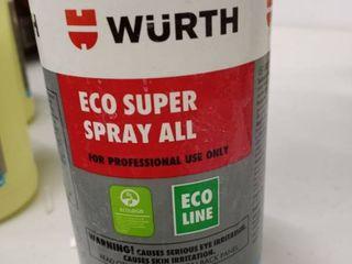 Wurth Eco Super Spray All Multi Purpose Cleaner
