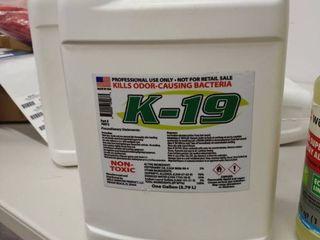 k 19 professional use only Kilz odor causing bacteria 1 gallon