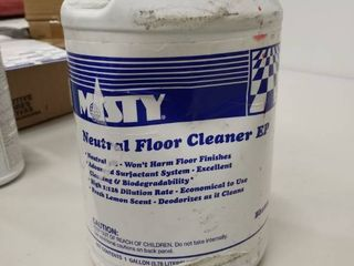 MISTY  AMR1033704  Neutral Floor Cleaner  1 Each  Green