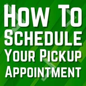 How to schedule your pick up