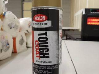 Krylon Tough Coat Alkyd Enamels Gold Acrylic