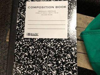 BAZIC Black Marble Composition Book