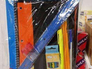 20 Piece School Supplies K 12 Kids Back To School Essential Kit Bundle