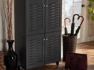 Contemporary Shoe Storage Cabinet Retail 191 99