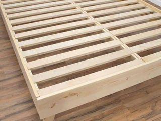 Kotter Home Solid Wood Mid century Platform Bed Retail 393 49