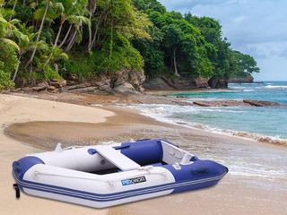 7 5 10FT Inflatable Dinghy Boat Fishing Tender Rafting Water Sports Retail 529 49
