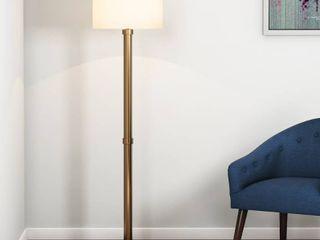 Copper Grove Baptisia Brass Floor lamp   Black Brass