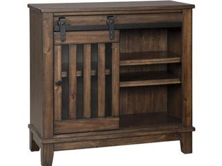 Brookport Accent Cabinet Brown   Signature Design by Ashley