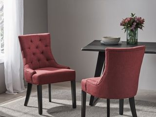 Hayden Tufted Dining Chair Set  Set of 2  by Christopher Knight Home Retail 256 99