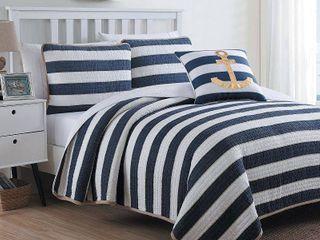 American Home Fashion Hampton Quilt Set